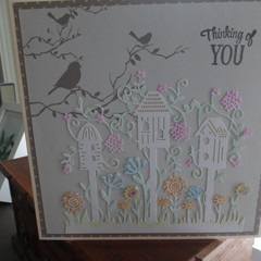 THINKING OF YOU - CARD  (FREE POSTAGE)