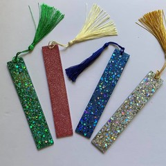 Resin Bookmark with tassel