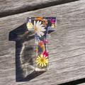 Floral Letters- SALE