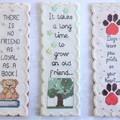 Assorted Cross Stitch Bookmarks