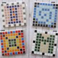 Basic 'Pixel' Mosaic Coasters (Sets of 2)