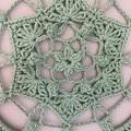 25cm Handmade Crochet Mandala Wall Hanging