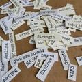 100 Inspiring words cutouts | Embellishments | Junk Journals | Craft |Happy Mail