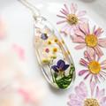 Cherry Blossom and Wattle Teardrop