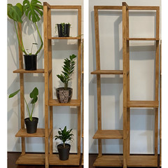 6 Tier Wooden Plant Stand