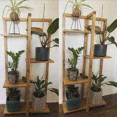 5 Tier Wooden Plant Stand