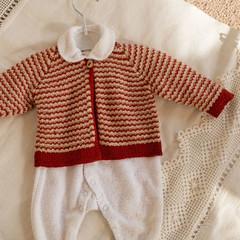 Cardigan, jacket, new born, wool, size 000, unisex