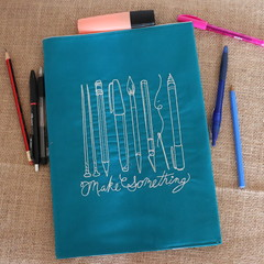 A4 Reusable Notebook Cover and Book-  Make Something