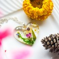 Garden Hearts Necklace 2