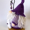 Amethyst Crystal Wizard amigurumi model