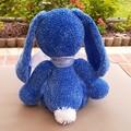 soft blue velvet rabbit