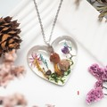 Garden Hearts Necklace