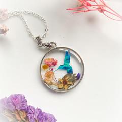 Blossom Blue Bird Necklace 6