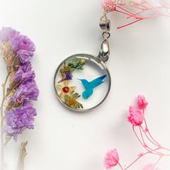 Blossom Blue Bird Necklace 4