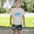 Hand Printed Boys T-Shirts - FREE POST