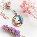 Blossom Blue Bird Necklace 7
