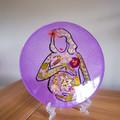Blooming Preggy Mum- Purple