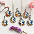 Blossom Blue Bird Necklace 5