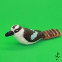 Laughing Kookaburra - Handmade Needle Felted Wool Bird