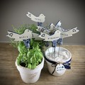 Handmade Ceramic Herb Markers / Garden Gift