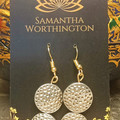 Egyptian Queen Copper Earrings - Designed by Samantha Worthington
