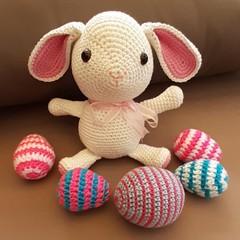 soft cotton easter rabbit