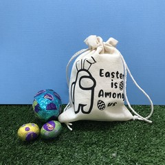 Among Us Easter bag