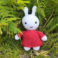 Miffy the white rabbit