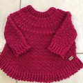 Child, Toddler Jumper 1-2years, Crochet Handmade, Boy, Girl, Knitwear