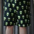 """Aliens""-Adults Shorts"