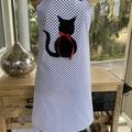 Kitty Polka Dot Apron