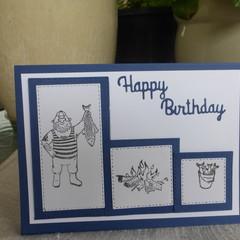 BIRTHDAY CARD - MALE  (FREE POSTAGE)