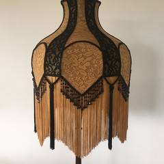 FANTASTIC HANDCRAFTED SHADE FOR FLOOR LAMP