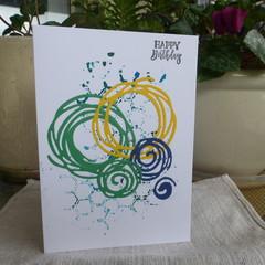 MALE BIRTHDAY -  (FREE POSTAGE)
