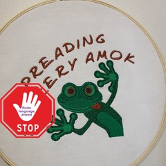 Embroidery, Spreading Fuckery Amok