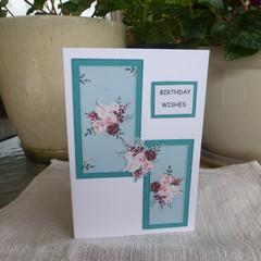 FEMALE BIRTHDAY CARD   ( FREE POSTAGE