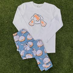 Kids Marshmallow bunny PJ set