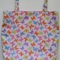 Foldable market bag with pocket