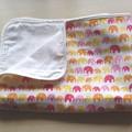 Reversible Gauze Blanket~Elephant Pink/Baby,Toddler