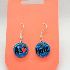 Rude Earrings,  Quirky Ear rings, fun Jewellery
