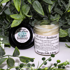All Natural Deodorant | Lemongrass and Tea Tree | 20g