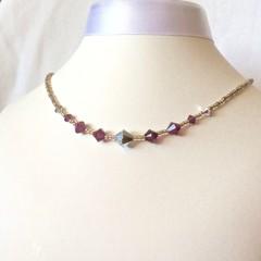 Swarovski Crystal Necklace: L'Argent