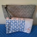 "ELEPHANT PATCHWORK NAPPY CHANGE MAT + BAG OPTION - 45cm x 52cm (18"" x 21"")"
