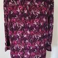 Vintage Purple Blouse