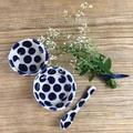 Handmade Ceramic Dipping Bowl Set / Ceramic Sauce Bowl Set / Gift