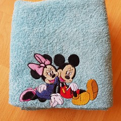 """Best Friends "" Embroidered Towel"