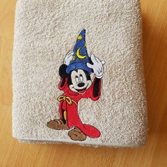 """Magic Mouse "" Embroidered Towel"
