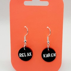 Earrings,  Mother's day, Quirky Ear rings, fun Jewelry, Karen earrings
