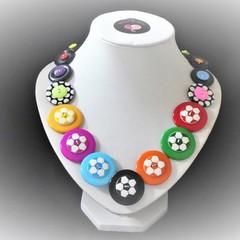Soccer ball necklace. Soccer Fun.