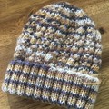 Baby Beanie-suit 3-6 months- unisex, handmade, knitted